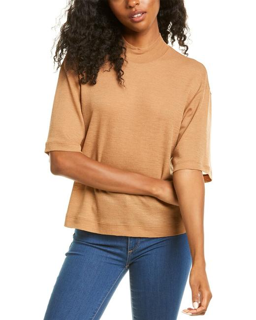Item - Cropped Bell-sleeve Wool Top V685483551 Blouse