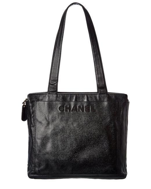 Item - Pre-owned Caviar Leather Cc 7769-1 Tote