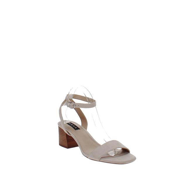 Item - Carly Open-toe Suede High-heel Sandals