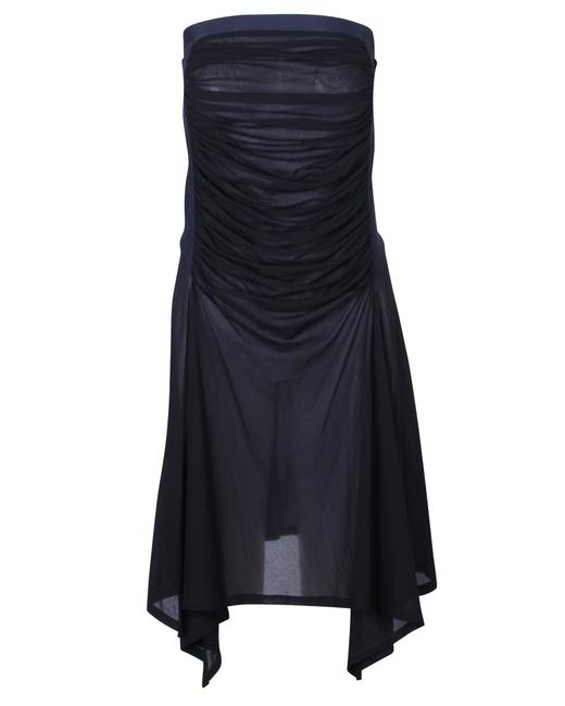 Item - Fishtail Skirt with Pleated Front Detail