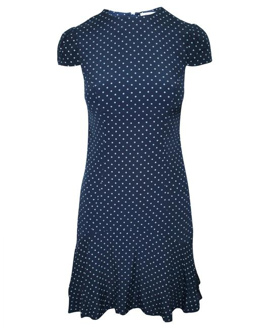 Item - Navy Blue Dress with Tulip Sleeves