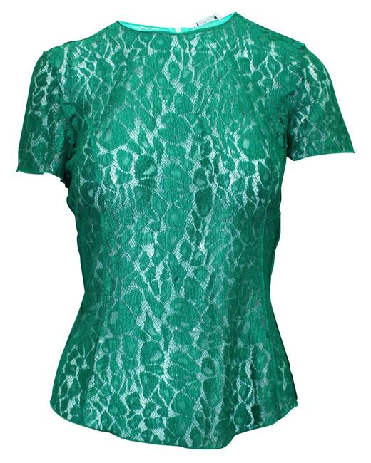 Item - Green Lace Top Blouse