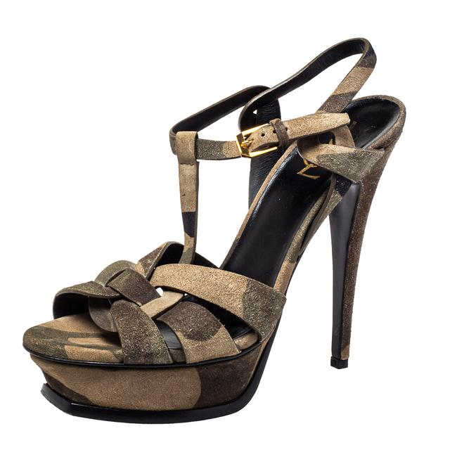 Item - Tribute Suede Camouflage Size 39 Sandals