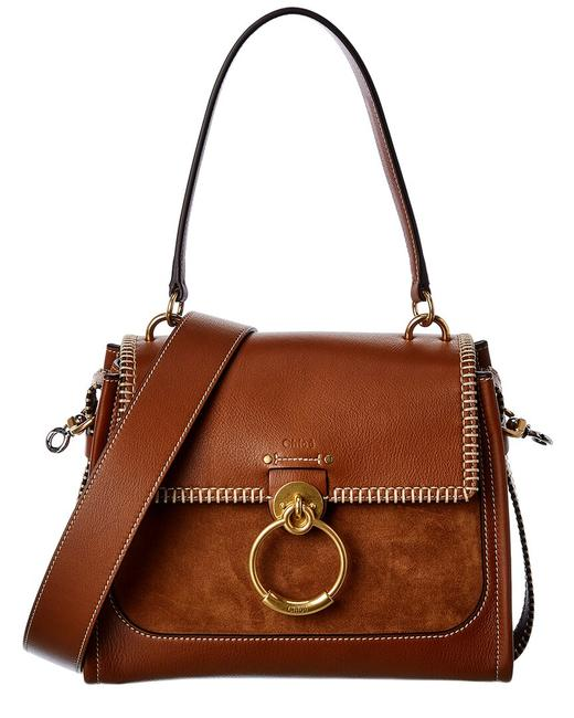 Chloé Day Small Leather & Suede Chc21ss142 D98 25m Shoulder Bag Chloé Day Small Leather & Suede Chc21ss142 D98 25m Shoulder Bag Image 1
