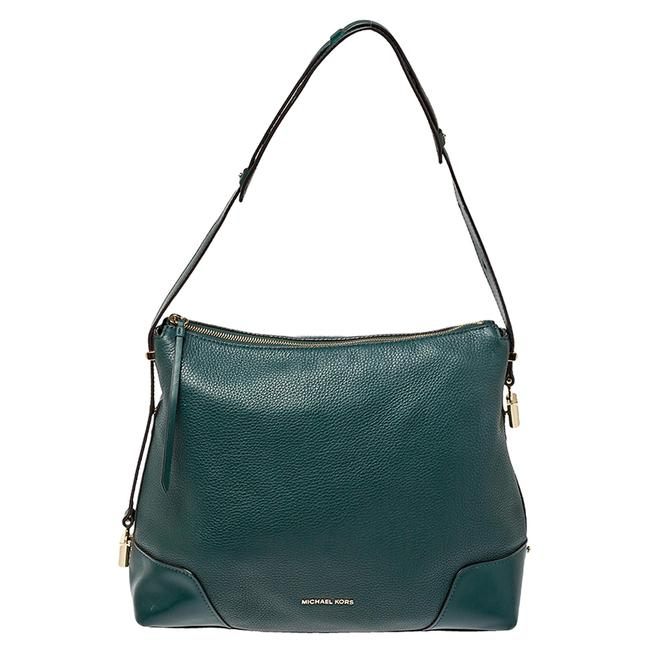 Item - Green Leather Large Crosby Hobo Bag