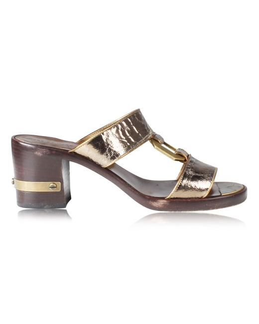 Item - Metallic Varnished Sandals Formal