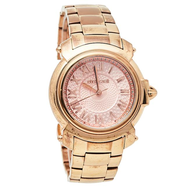 Item - By Franck Muller Rose Gold Tone Stainless Steel 1l005 Women's Wristwatch 35 Mm Watch