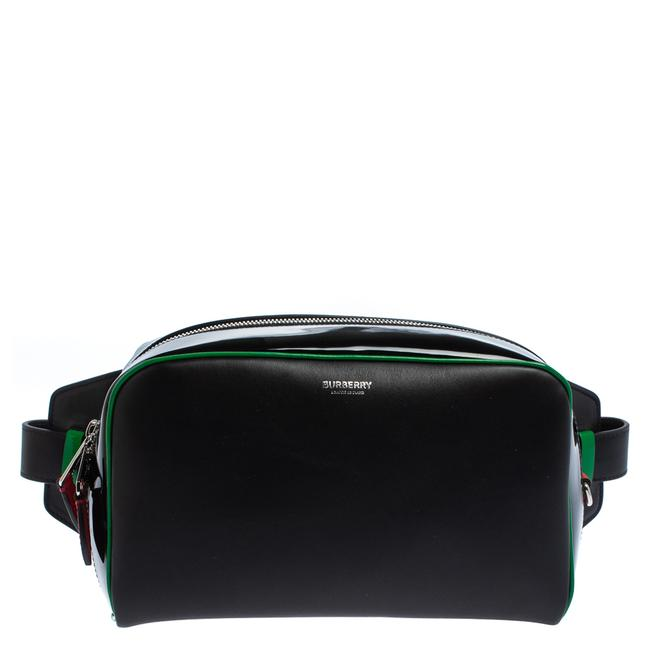 Item - Bumbag Leather and Patent Leather Cube Wristlet