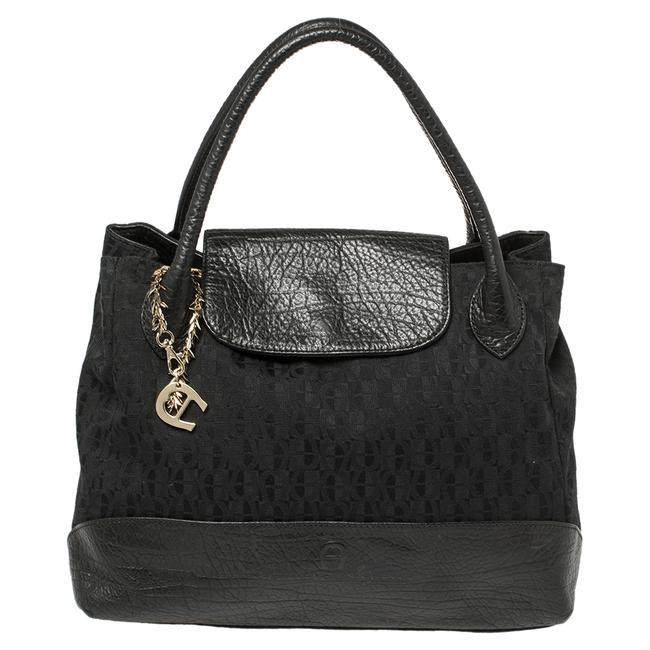 Item - Signature Canvas and Leather Charm Tote
