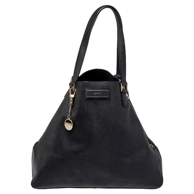 Item - Saffiano Leather Double Zip Tote