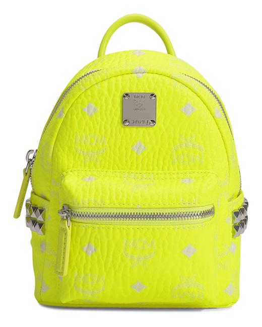 Item - Stark 20 In Neon Yellow Coated Canvas Backpack