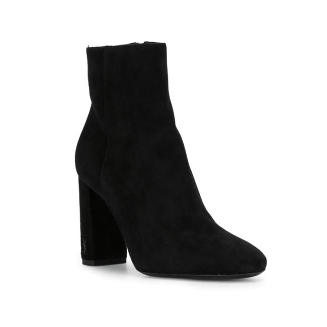 Item - Lou Women's Suede Leather 95 Ankle Black Boots/Booties
