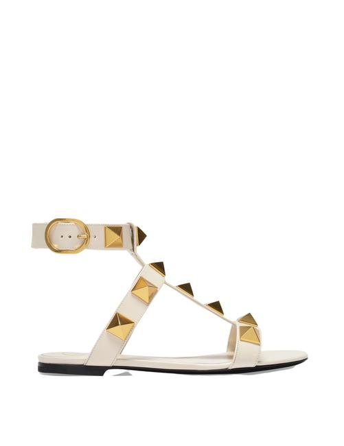 Item - In Beige Leather Sandals
