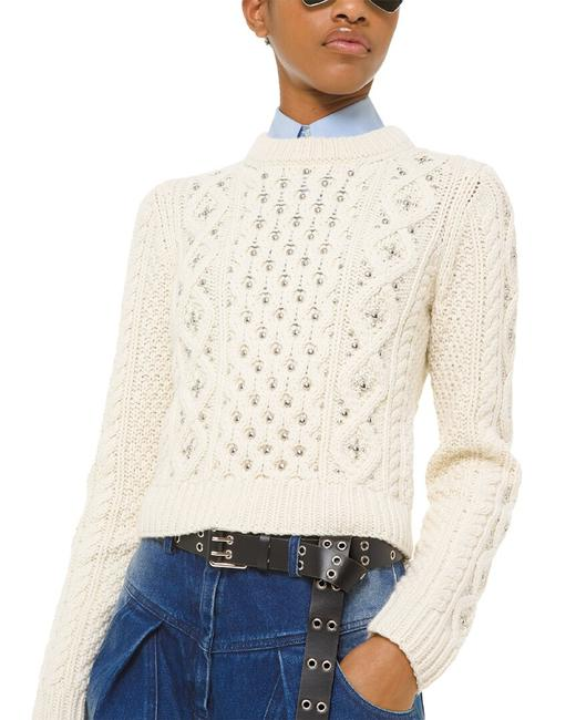 Item - Corallina Studded Cashmere 639rkq922 Sweater/Pullover