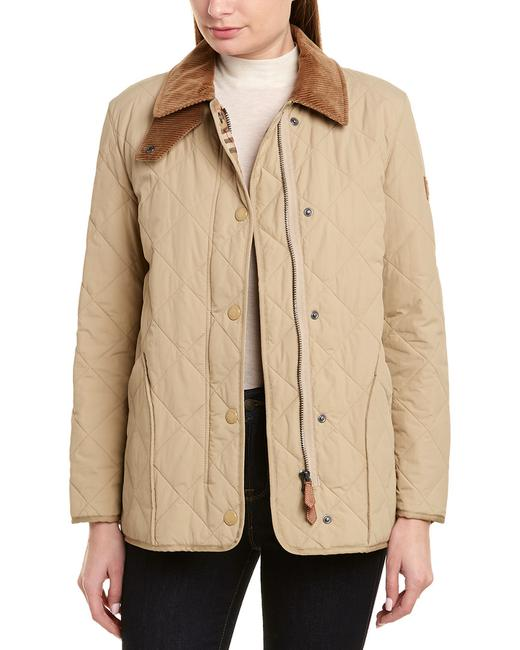 Burberry XS Womens Diamond Quilted Thermoregulated Barn 8021468 Jacket Burberry XS Womens Diamond Quilted Thermoregulated Barn 8021468 Jacket Image 1