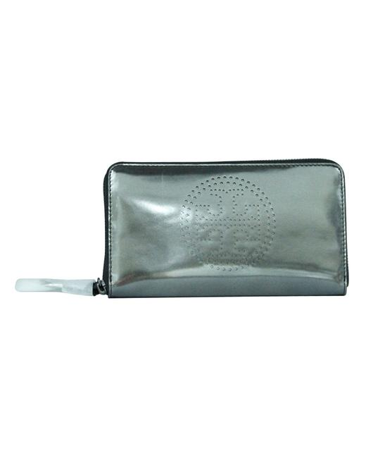 Item - Metallic Continental -pre Owned Condition Very Good Wallet