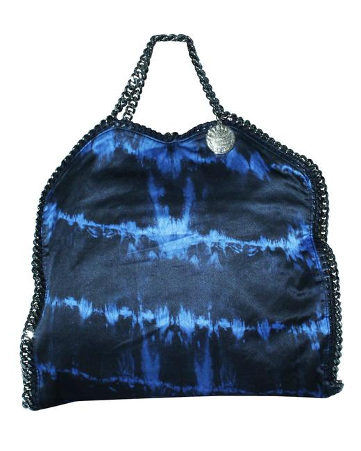 Item - Tie Dye Blue Fabric Falabella -pre Owned Tote