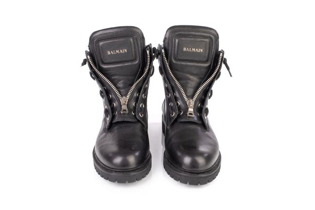 Item - Black Leather Taiga Ranger Boots/Booties