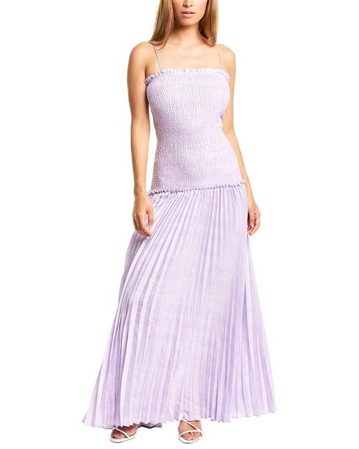 Item - Every Promise Linen-blend At190524 Casual Maxi Dress