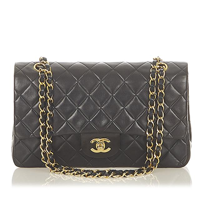 Item - Classic Flap Small Classic Lambskin Leather Double Shoulder Bag