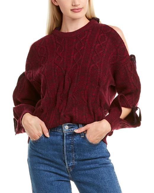 Naadam Cold-shoulder Wool Cashmere-blend Wc72137 Sweater/Pullover 14115647260002 Image 1