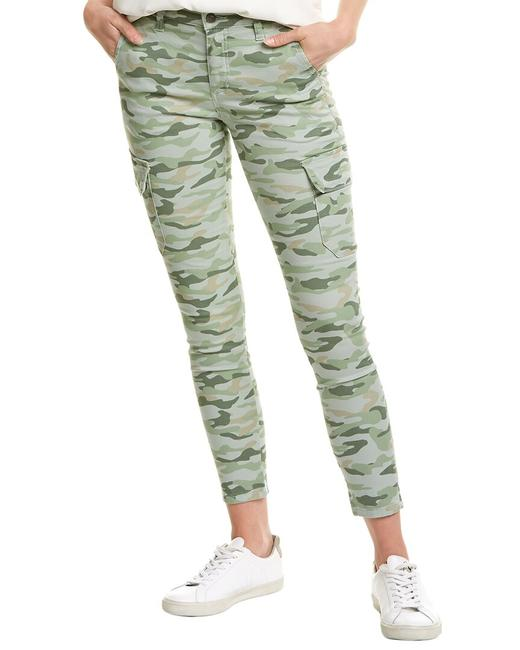Item - The Icon Soft Olive Green Camo Ankle Cut Bh6lgc5561 Skinny Jeans