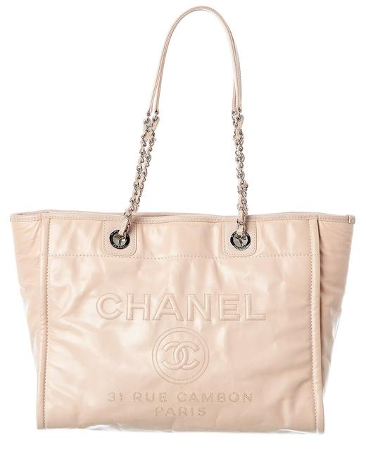 Item - Deauville Pre-owned Leather 7959-3 Tote