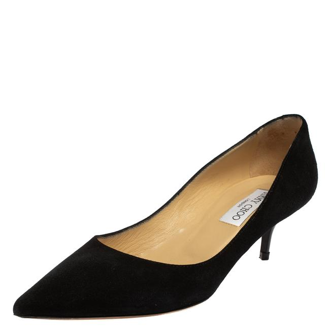 Item - Black Suede Anouk Pointed Size 38.5 Pumps