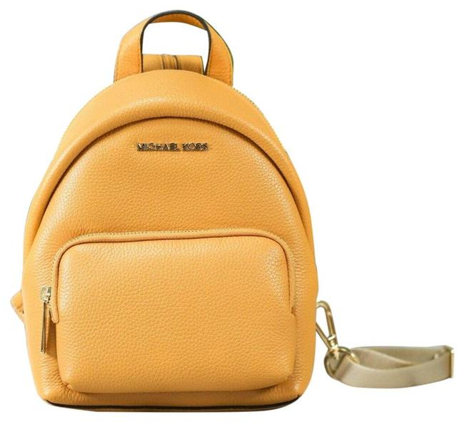 Item - Erin Small Leather Convertible Bag (Marigold) Backpack
