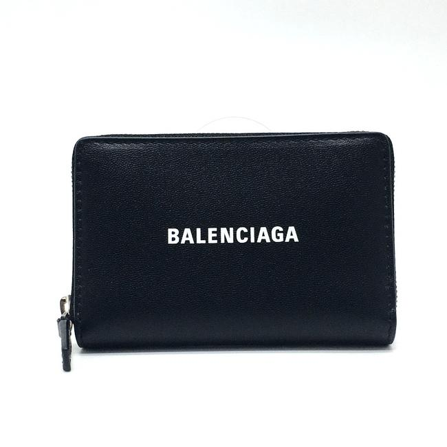 Item - Unused 616911 Card Case Compact Coin Purse Leather Black Wallet
