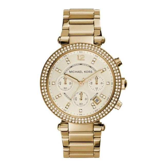Item - Parker Chronograph Gold-tone Stainless Watch