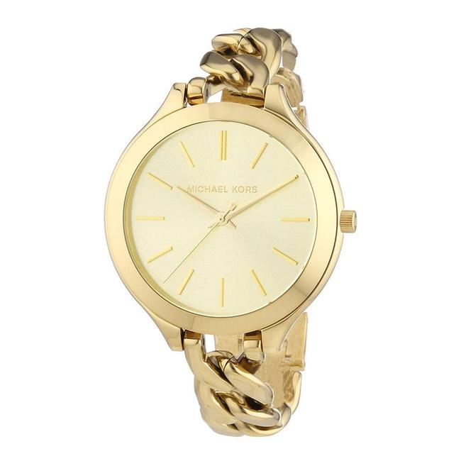 Item - Slim Runway Champagne Dial One Size Watch