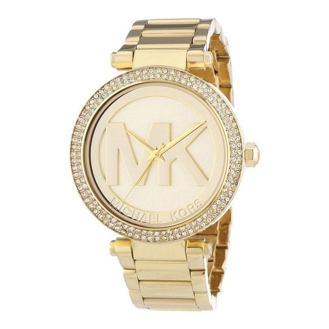 Item - Parker Three-hand Gold-tone Stainless Steel Watch