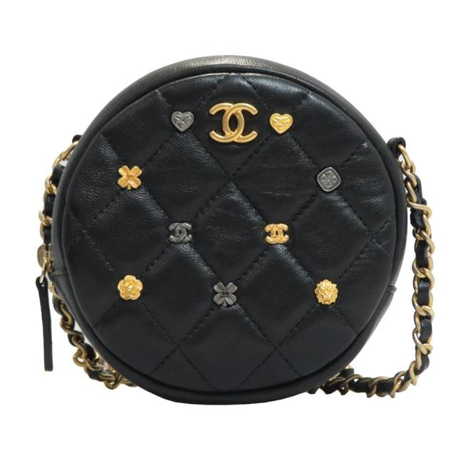 Item - Round As Earth Lambskin Leather Cross Body Bag