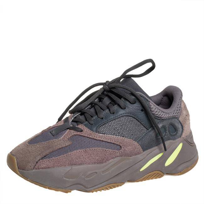 Item - Grey/Brown Mesh and Suede Boost 700 Mauve Sneakers Size 38 2/3 Athletic