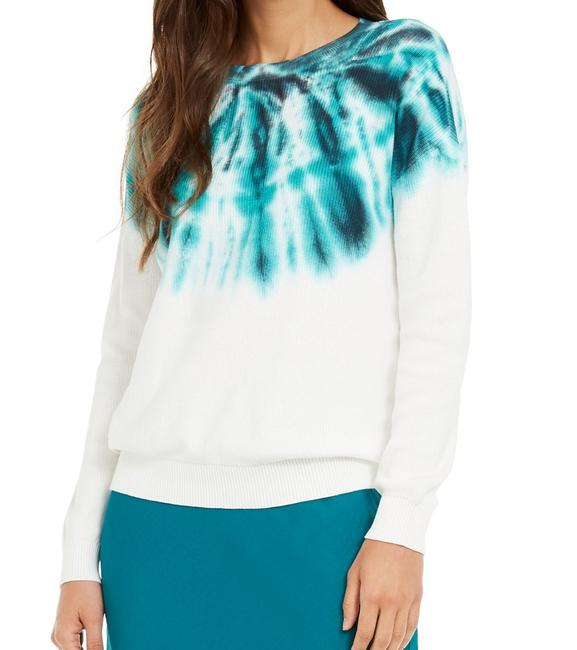 Item - XL Women's Green Size Thermal Tie Dye Crew Neck Sweater/Pullover