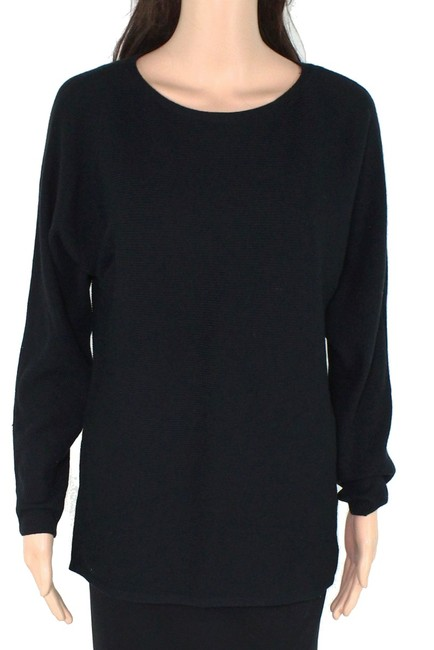 Item - XS Women's Classic Black Size Ribbed Knitted Long Sleeve Sweater/Pullover