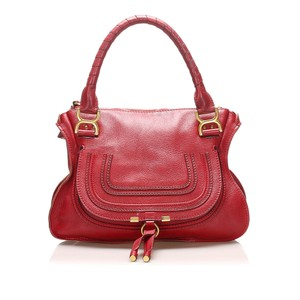 Chloé Marcie Satchels - Up to 70% off at Tradesy