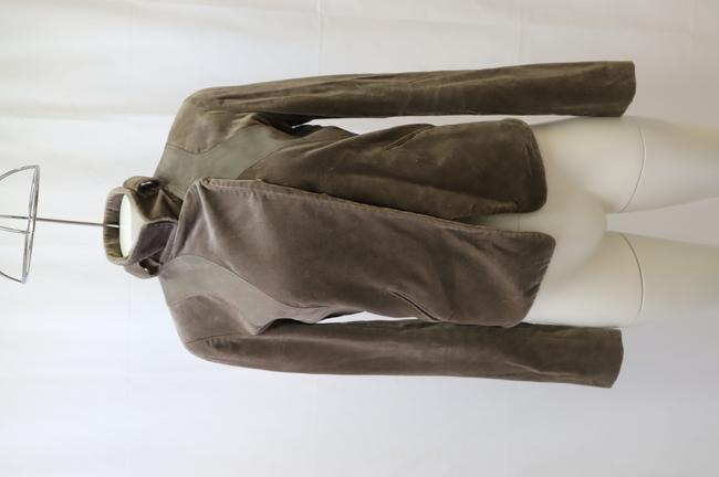 Item - Brown Velvet -pre Owned Condition Very Good Fr38 Jacket