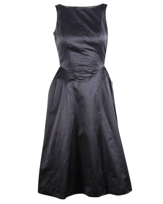 Item - Yves Black Flared -pre Owned Condition Excellent Formal Dress