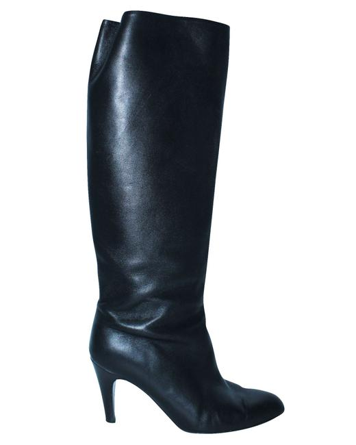 Item - Black Leather -pre Owned Condition Very Boots/Booties