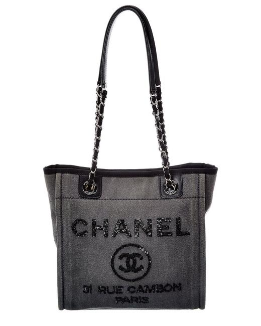 Item - Deauville Pre-owned Canvas Mini 2489774 Tote