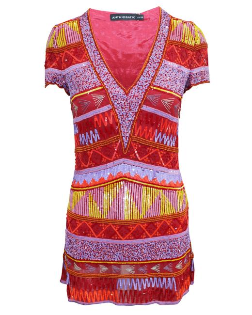 Item - Colorful Sequined Dress