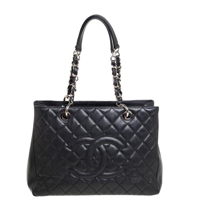 Item - Shopping Quilted Caviar Leather Grand Tote