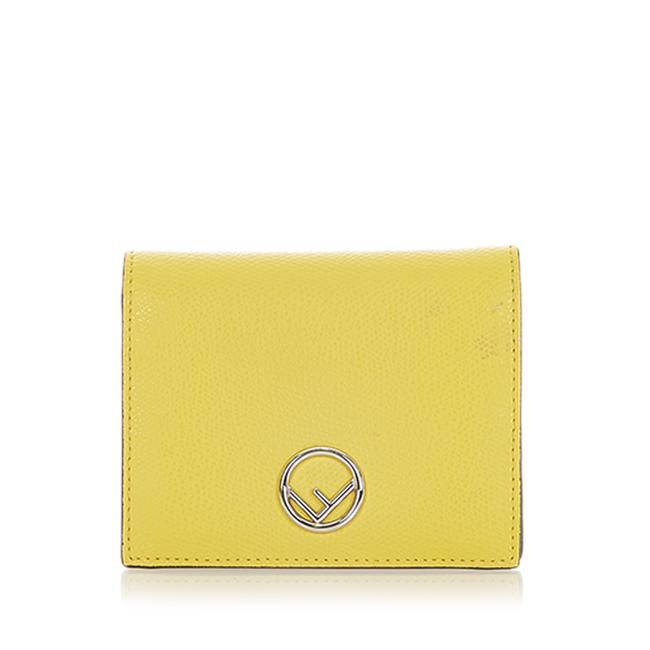 Item - F Is Leather Small Wallet
