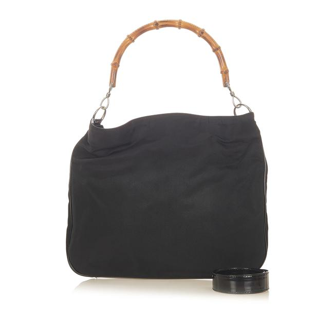 Gucci Bamboo Leather Satchel Gucci Bamboo Leather Satchel Image 2