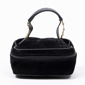 Gucci Small Vanity Bag In Black Calf Leather Accessory