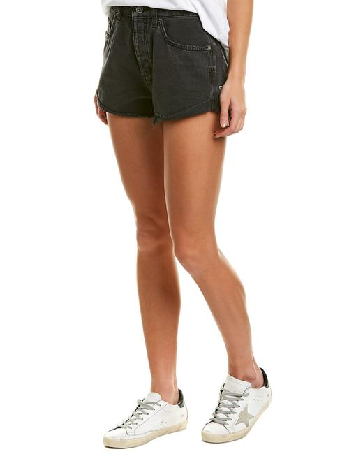 Item - Womens Rollin Out Black Crow Trashed 23 1000060741 Denim Shorts
