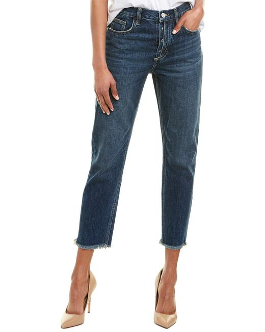 Item - Womens The Exposed Fly Bermuda Crop 25 Blue 19-2-005288-pt01323 Capri/Cropped Jeans