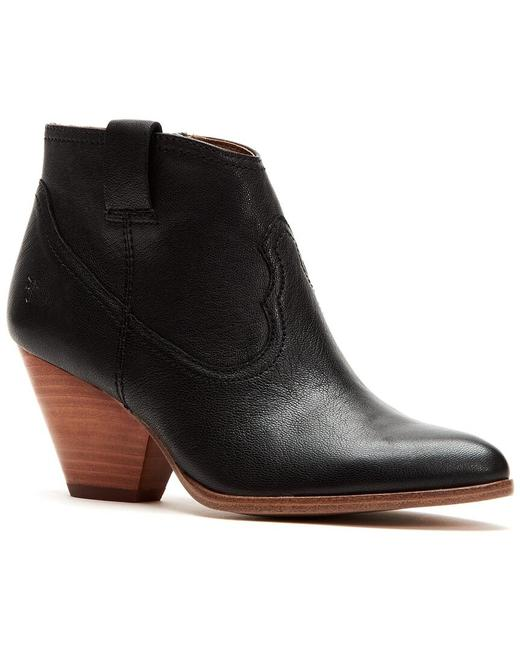 Item - Reina Leather 3474803-blk Boots/Booties